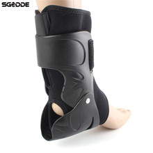 Elastic Nylon Adjustable Ankle Support Brace Foot Guard Sprains Injury Wrap Splint Strap Sports Protector for Outdoor Activities