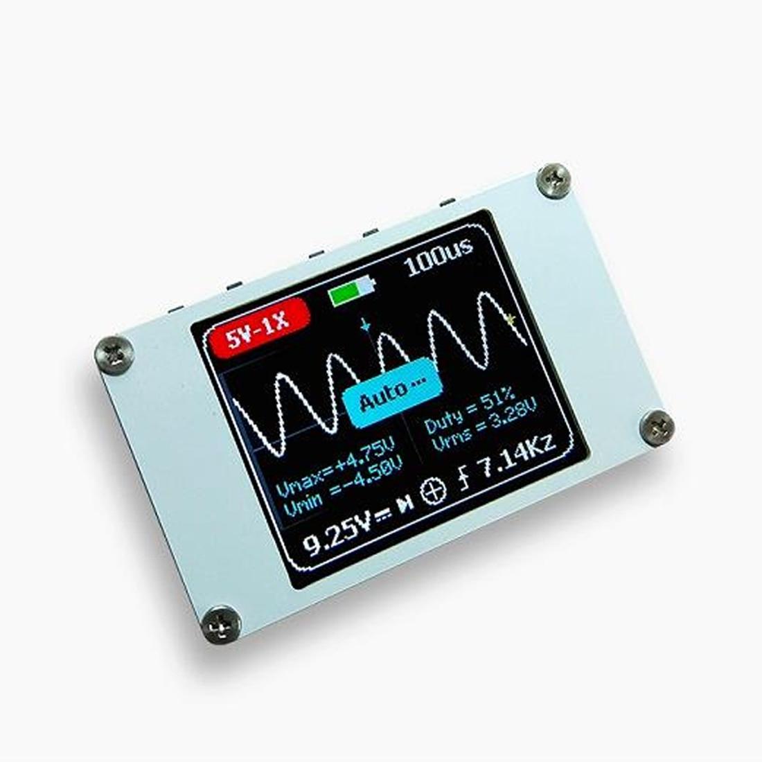 цена на Handheld Mini Pocket Portable Ultra-small Digital Oscilloscope 1M Bandwidth 5M Sample Rate Digital Oscilloscope Kit