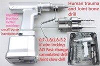 Медицинская ортопедическая инструмент Электрический полый коленный шарнир медленная кость дрель AO stryker john aesculap link chunli aikang Hudson