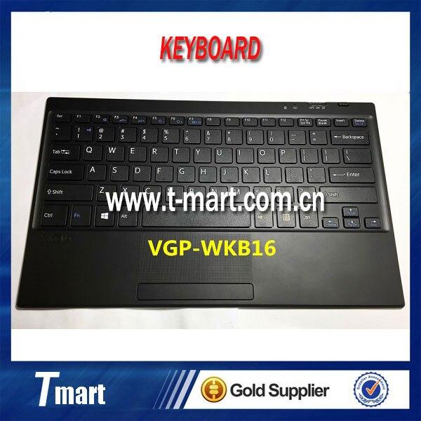 ФОТО 100% working brand new bluetooth wireless keyboard For SONY VAIO Tab 11 VGP-WKB16 US version BLACK