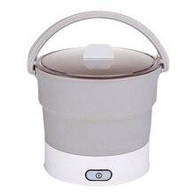 Складной электрический чайник с подогревом, контейнер для еды, инструмент для путешествий QP2