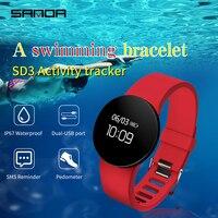 SANDA Bluetooth Smart Watch Pedometer Call Reminder Smartwatch For IOS Android Men Women Waterproof Wrist Watches Digital Clock