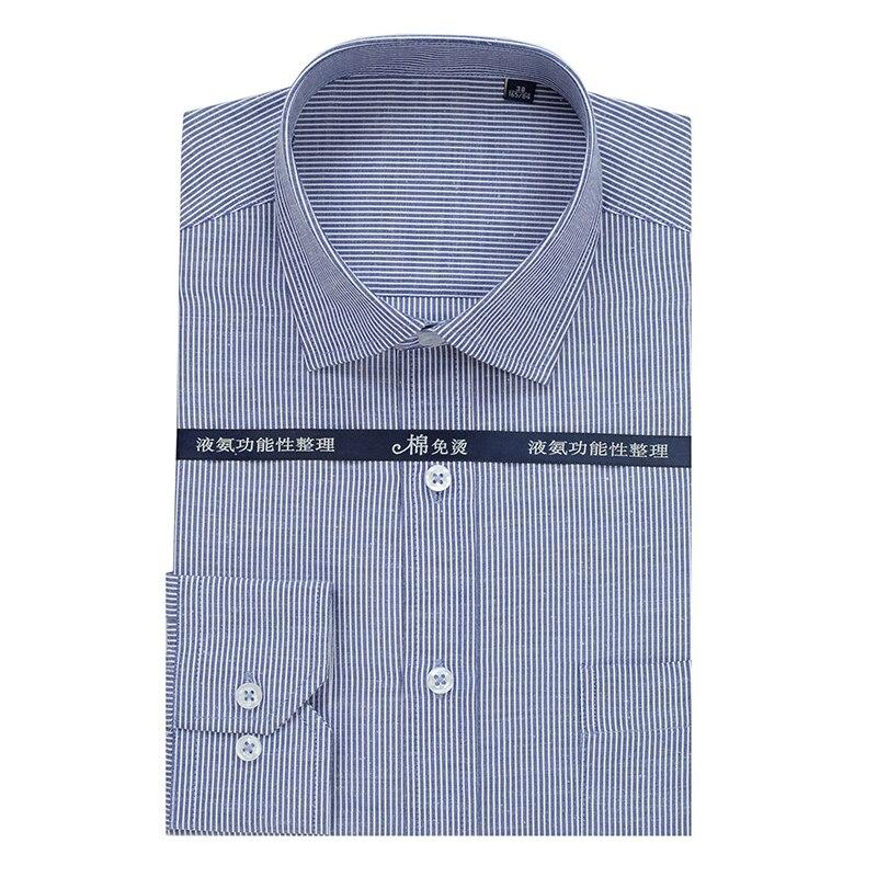Herrenbekleidung & Zubehör 2019 Mode Neue Arrivla Formale Extra Große Hohe Qualität Striped Frühling Männer Mode Lange-sleeve Shirt Plus Größe M-5xl 6xl 7xl 8xl 9xl 10xl