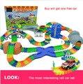 Brinquedos trem elétrico grande ( 288 pçs/set ) estrada de ferro modelo de brinquedo de presente para crianças brinquedo
