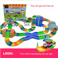 Juguetes para niños grande eléctrico ( 288 unids/set ) de ferrocarril tren de juguete ferrocarril modelo eléctrico de juguete de regalo muchacho para los niños