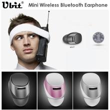 Ubit música auricular bluetooth inalámbrico bluetooth 4.0 estéreo en la oreja invisible mini headsfree auriculares con micrófono para el teléfono