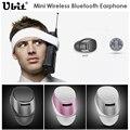 Ubit Bluetooth Fone de Ouvido Sem Fio Bluetooth 4.0 fone de Ouvido Estéreo de Música Headsfree Invisível Mini fone de Ouvido Com Microfone Para Telefone