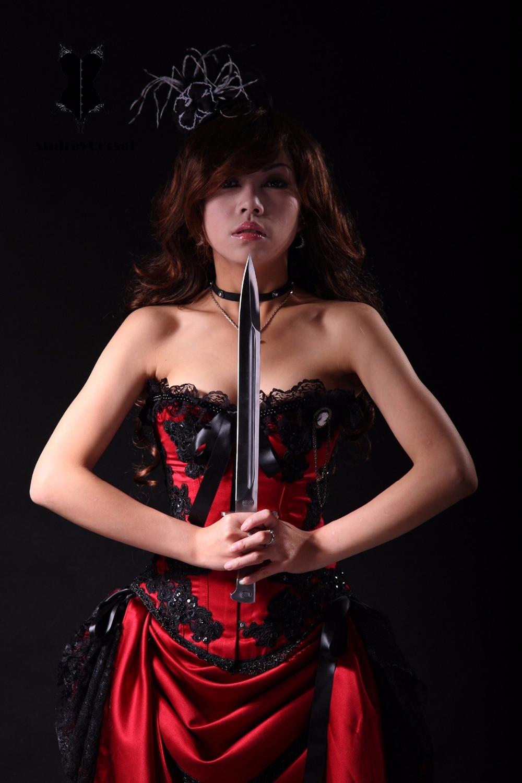 Anal fuck bondage corset dress videos