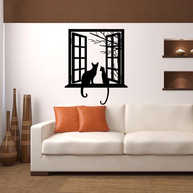 Windows gatti 3D wallpapers cartoon sfondo della parete camera da ...