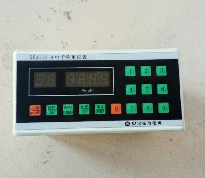 XK3110-A Electronic Weighing Controller Instrument, Weighing Meter Head, Mixing Station Batching Machine electronics