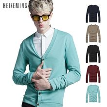 2016 Limited No V-neck Color 5.free Shipping!2016 Autumn Spring New Mens Cardigan Sweaters Casual Coat Knitwear Men Clothing
