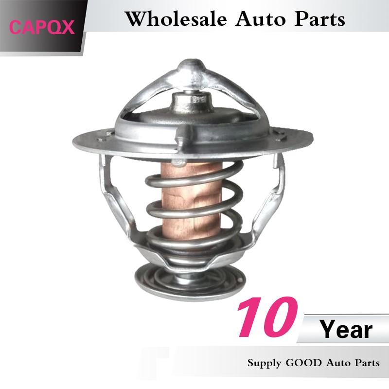 Capqx Koelvloeistof Thermostaat 90916-03093 Voor Gs300/gs430 Yaris Vios Corolla Crown Hilux Hiace Land Cruiser Prado Coaster Voor Snelle Verzending