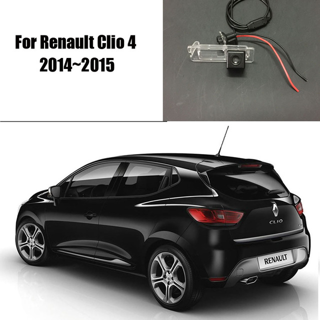 thehotcakes car rear view camera for renault clio 4 2014 2015 reverse camera hd ccd rca ntst. Black Bedroom Furniture Sets. Home Design Ideas