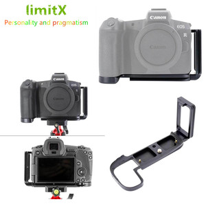 Image 1 - Quick Release L Plate Holder Hand Grip Tripod Bracket for Canon EOS R Camera for Benro Arca Swiss Tripod Head