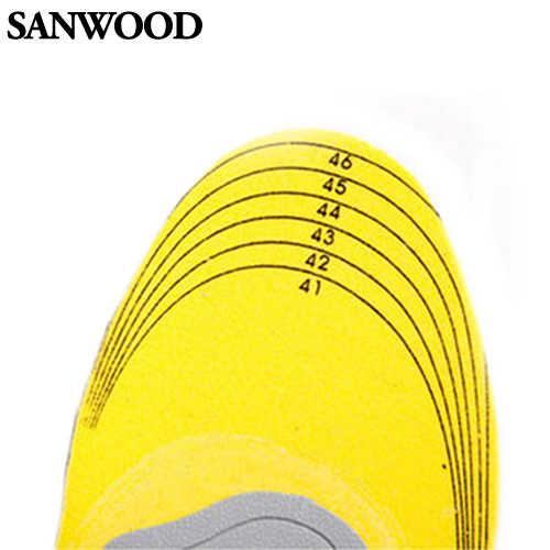 3D удобная ортопедическая обувь стельки Высокая арочная опорная площадка ортопедические стельки для обуви память хлопок для женщин и мужчин стельки для обуви