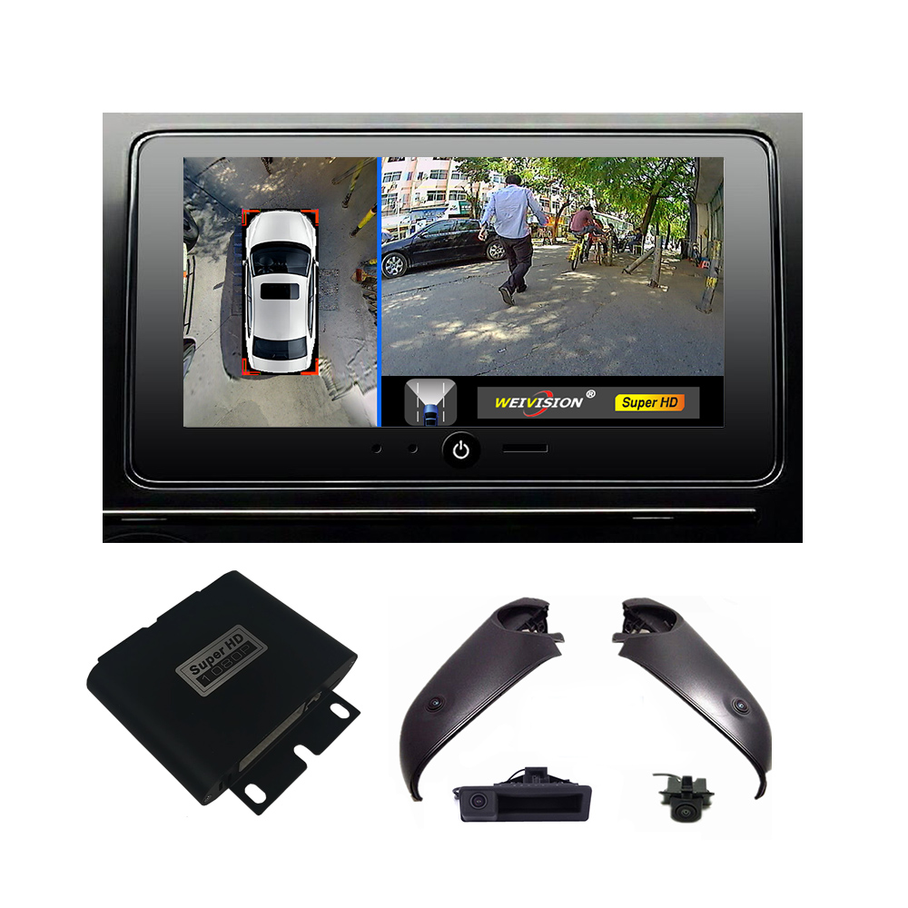 1080p 360 bridview surround car monitor system panoramic view all round view camera system for. Black Bedroom Furniture Sets. Home Design Ideas