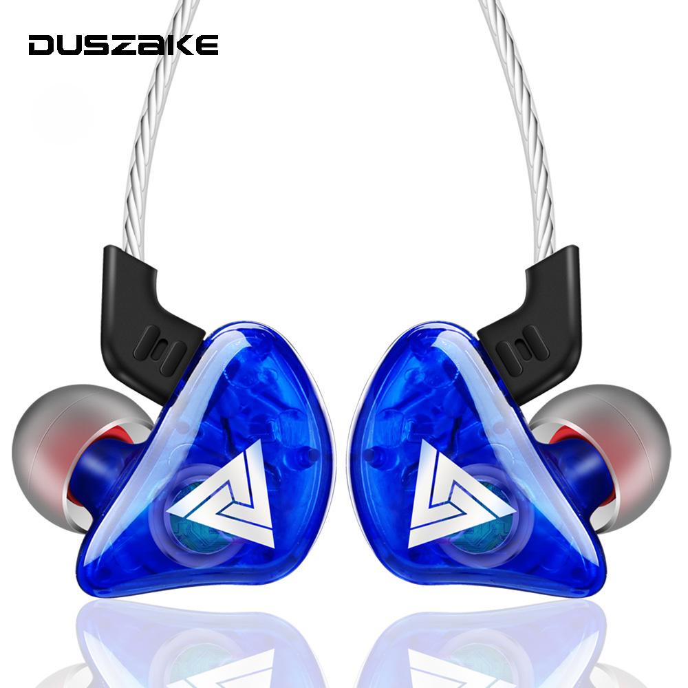 DUSZAKE In-Ear Earphone for Phone Bass Earphone For Samsung Sport Headset With Mic For Xiaomi Huawei Wired Earphone For Phone