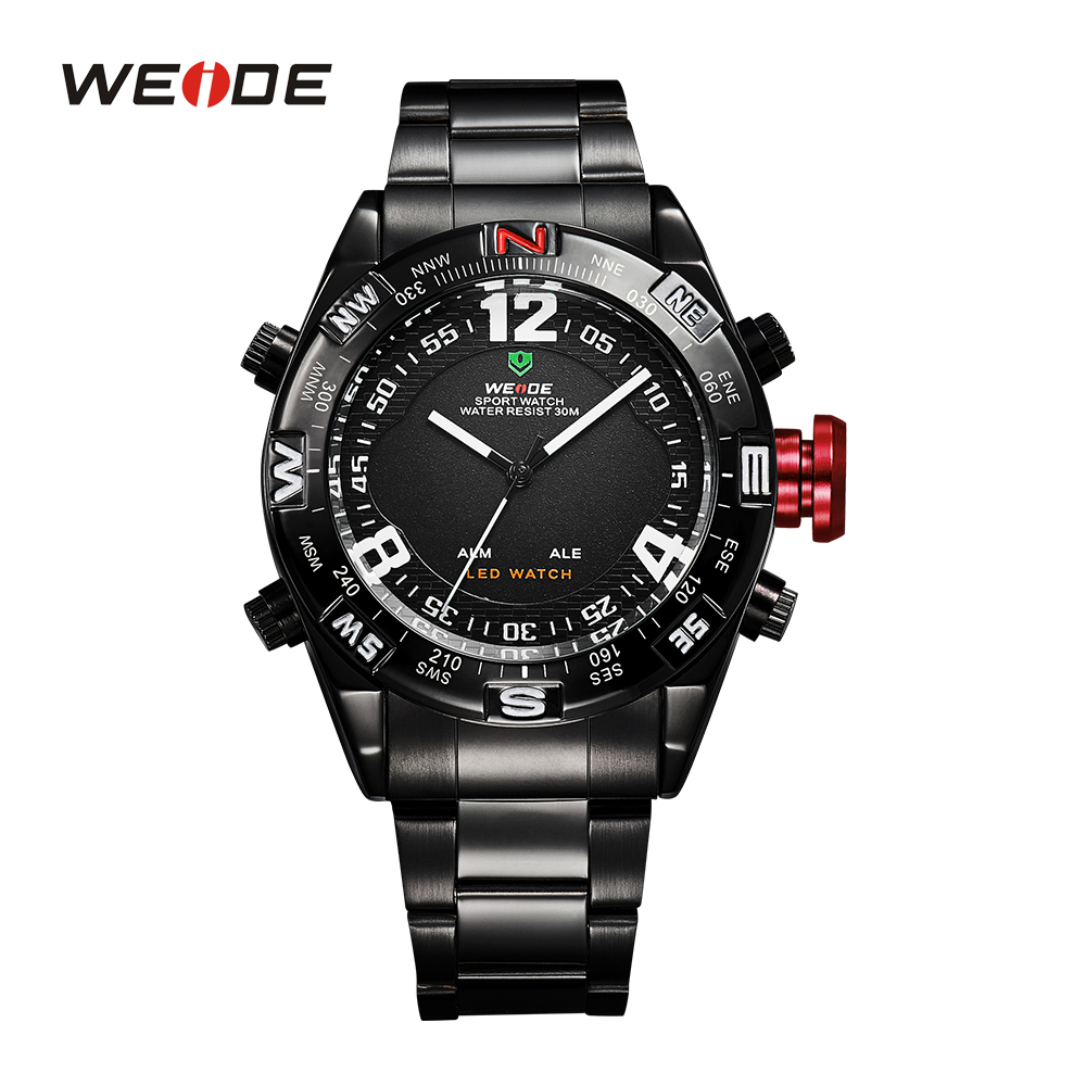 New WEIDE Luxury Brand LED Digital Watches Men Quartz Hour Clock Fashion Casual Sports Watch Men's Military Wristwatches WH2310