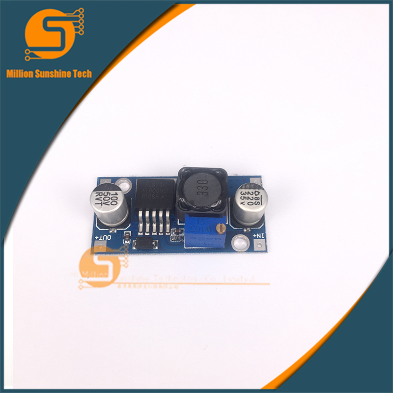 Hot Sale!XL6019 (XL6009 Upgrade) Automatic Step-up Step-down Dc-Dc Adjustable Converter Power Supply Module 20W 5-32V To 1.3-35V
