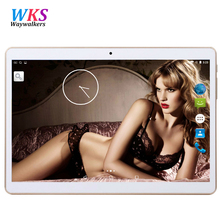 10.1 pulgadas Inteligente tablet pc Android 7.0 Octa 8 Core 3G 4G LTE RAM 4 GB ROM 64 GB 1280*800 IPS MT6592 Embroma el Regalo MID Tabletas 10.1 10