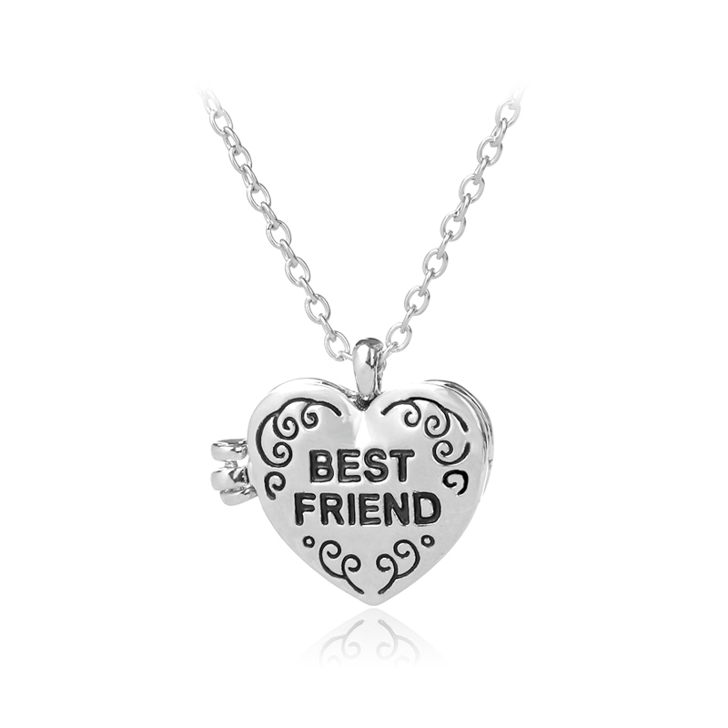 Hot Selling Alloy Necklace Openable Photo Frame Heart Shape ...