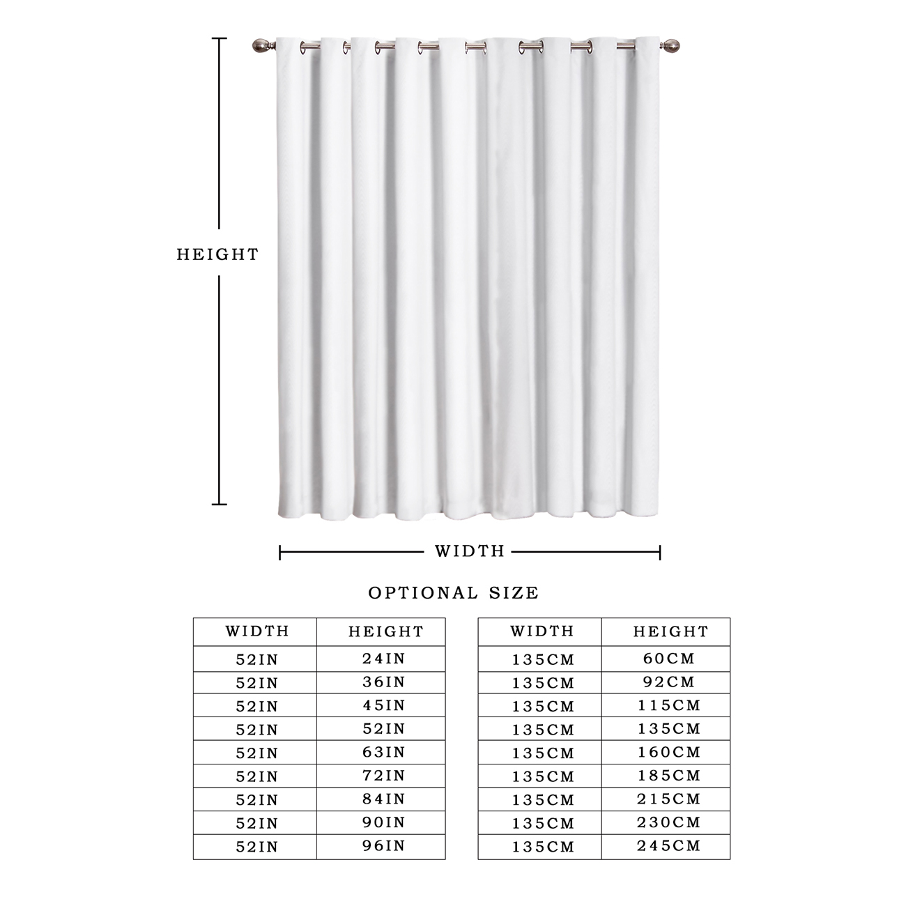 COCOHouse Islamic Religious Church Room Curtains Large Window Living Room Outdoor Decor Kids Window Treatment Hardware Sets