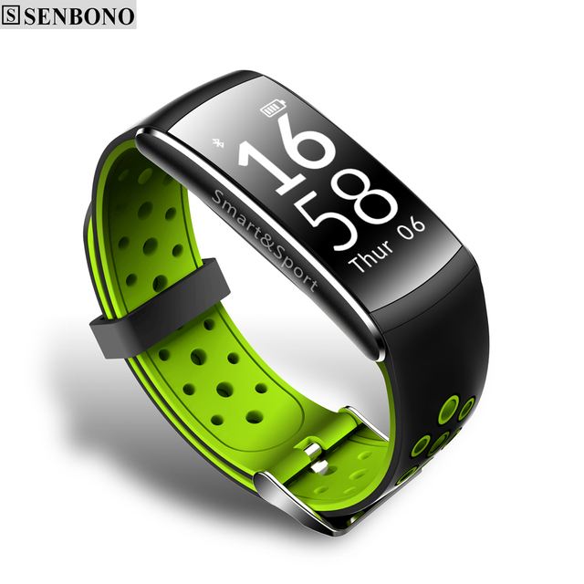 SENBONO Q8 Bluetooth IP68 Waterproof Smartband Heart Rate Monitor