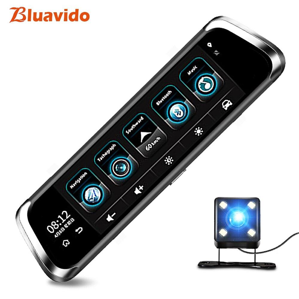 Bluavido 10 pouce 4g Android Miroir DVR Full HD 1080 p Dash Caméra GPS Navigation ADAS autoregistrar arrière vue miroir WIFI moniteur