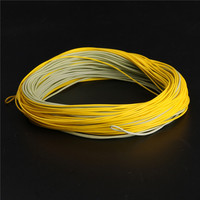 Free Shipping Lot Of 2 Pieces Special Designed 100ft WF7F Fly Fish Line Weight Forward Floating