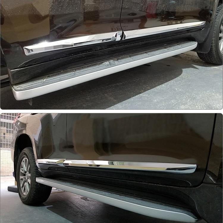 For Toyota Land Cruiser Prado FJ 150 Accessories Luhuezu 2010 2018 New 3D design Door Side