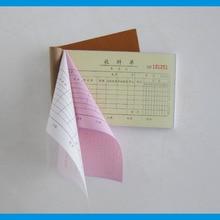 Custom Invoice Paper Sample Invoice Carbonless Invoice Book Printing