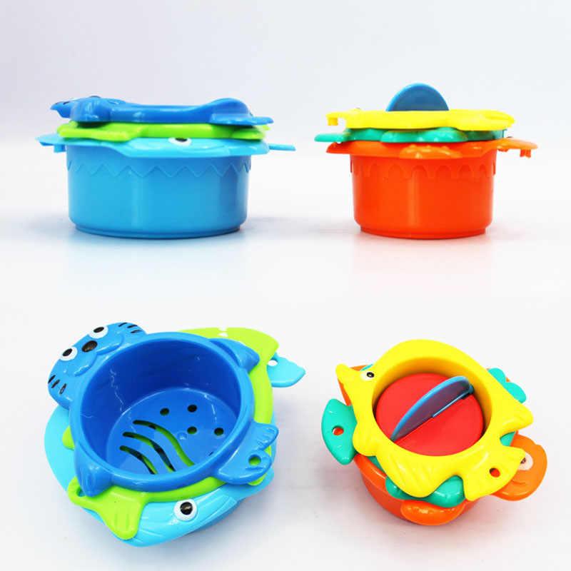 6 шт./компл. Детские Мультяшные рыбки животные поплавок Развивающие игрушки для детей Вода лето детские купальные бассейны пляжные песочные игры