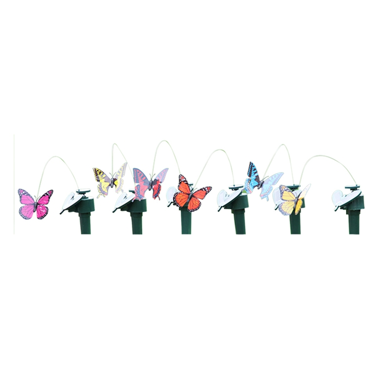 Merveilleux 2018 New 1 PC Solar Butterfly Hummingbird Gardening Garden Shopping Mall  Shop Decoration Electric Flying Simulation Butterfly In Chimes From Home U0026  Garden ...