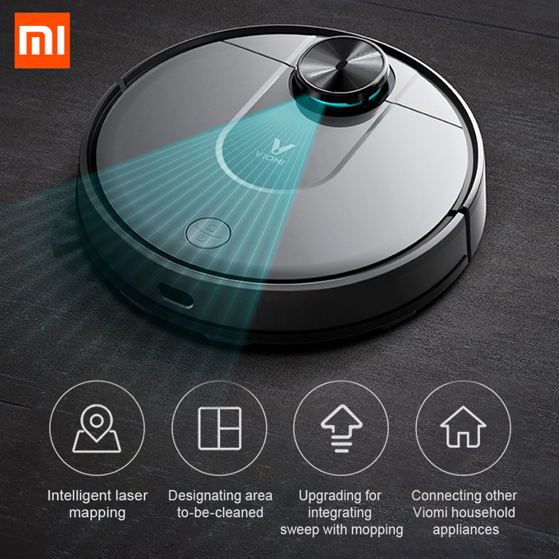Xiaomi PRO Vacuum Cleaner mi Robot Automatic Sweeping Smart Planned Wet Mop APP control for Home