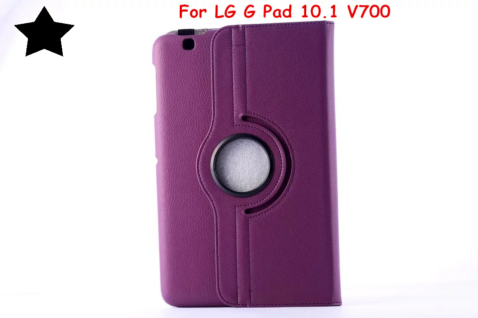 For For LG G Pad 10 1 V700 Gpad 10 1 Tablet case 360 degree Rotating