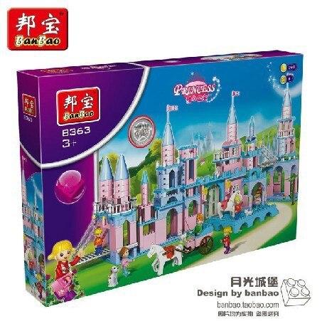 Model building kit compatible with lego Extra Large Princess castle 3D  block Educational model building toy hobbies for children