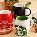 TT89 barril Starbucks taza de cerámica taza de café Starbucks Sirena mate taza de leche