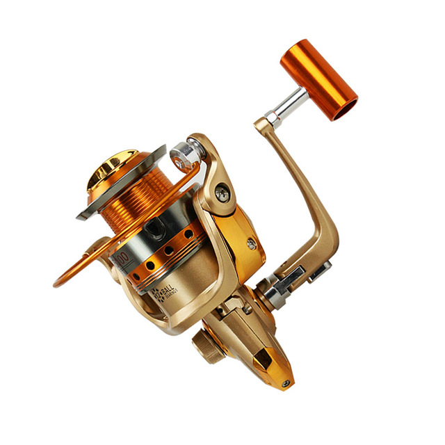 13 + 1 Full Metal <font><b>fishing</b></font> reel spinning wheel <font><b>fishing</b></font> 1000-9000 gapless free home delivery of all metal and durable