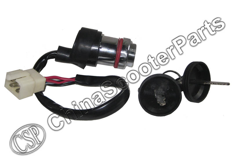 Ignition Key Switch Lock 4 Wires For Linhai 250 250cc 260 260cc 300 300cc 400 400cc ATV UTV