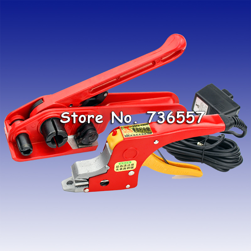 New Electrical Strapping tool manual bands packing tools straps binder buckle Banding strap carton box banding machine sgs elexcellent pp strap strapping tape banding tape