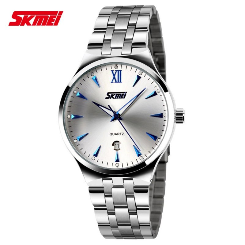 2019 Men Fashion And Simple  Quartz Watch Stainless Steel Waterproof Luxury Brand Wrist Watches