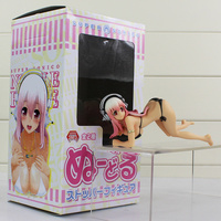 Japanese Anime SUPERSONICO With Headphone Model Toy PVC Sexy Super Sonico Action Figure Toys 12cm With