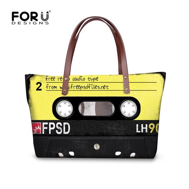 1002c11de2 FORUDESIGNS HOT Brand Design Women Handbags Cool 3D Tape Pattern Women s  Large Messenger Bags for Female Luxury Handbag Mujer