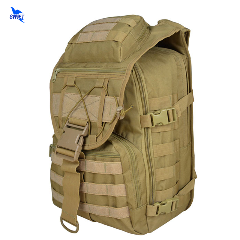 Men Women Military Army Backpack Trekking Camouflage Rucksack Molle Tactical Pack Schoolbag Waterproof Oxford Fabric Outdoor