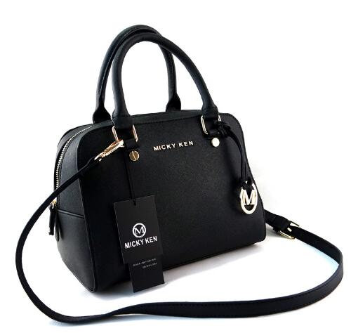 MICKY KEN Brand Cross Pattern PU Leather Michael Handbag Female Handbag Shoulder Messenger Bag Messenger Bag Female Handbag 814