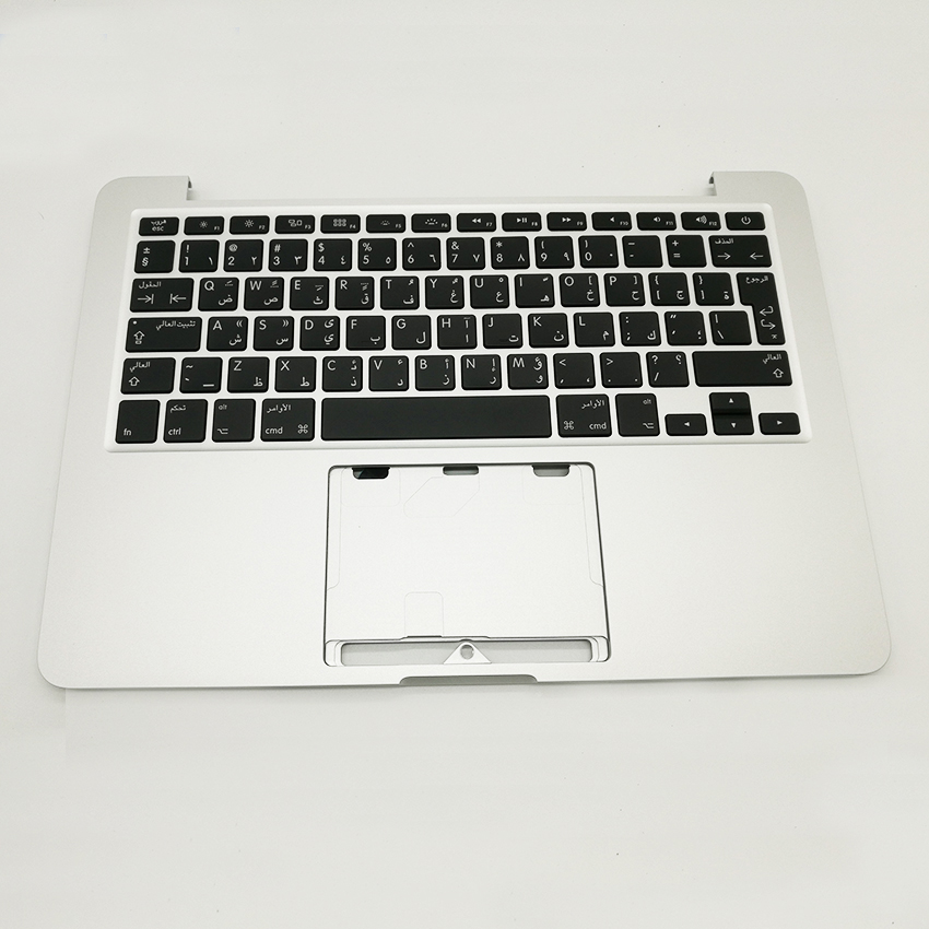 Brand New Arabic Topcase Palmrest Keyboard with Backlight For MacBook Pro Retina 13