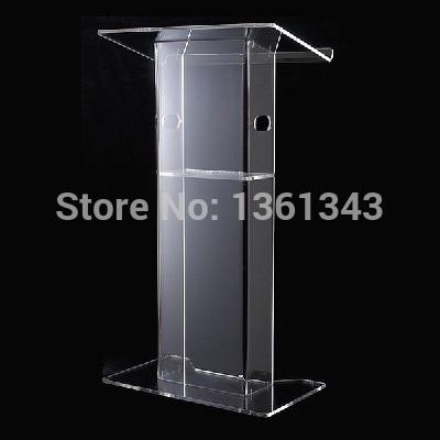 Clear acrylic podium Cheap beautiful clear acrylic furniture .acrylic podium Pulpit Lectern acrylic podium
