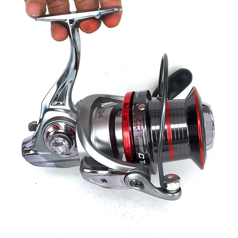 New Long Shot Casting Reel 14+1BBs Biggest Spinning Reel Fishing Reel For Carp Fishing Sea Fishing carretilha  9000 10000 12000