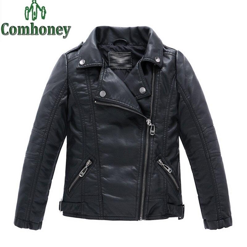 Popular Boys Leather Jacket-Buy Cheap Boys Leather Jacket lots ...