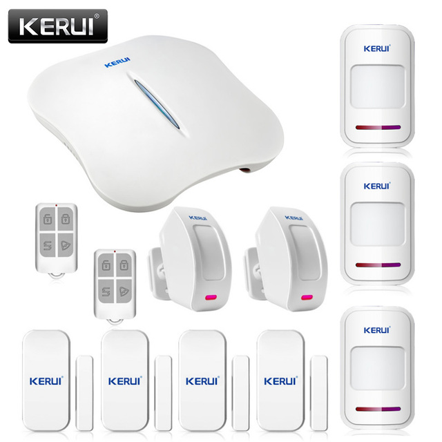 Freeshipping  new product  WIFI PSTN  security alarm system control  Android IOS APP for home office